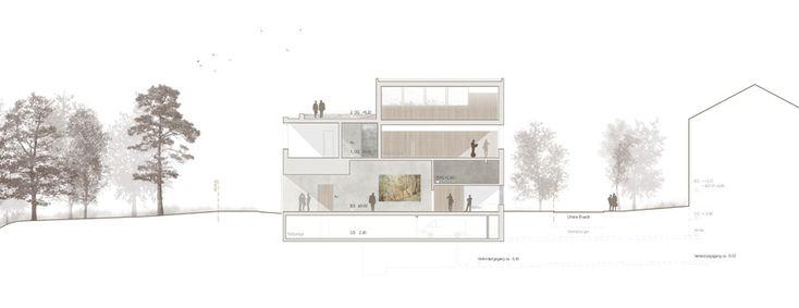 raumfindung Architekten . District Court Extension . Meilen (14)