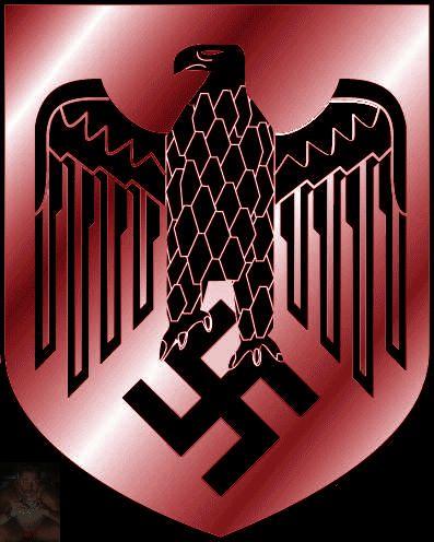 *Imperial banner of the Third Reich. *Bandiera imperiale del Terzo Reich. *Reichsbanner des Dritten Reiches.