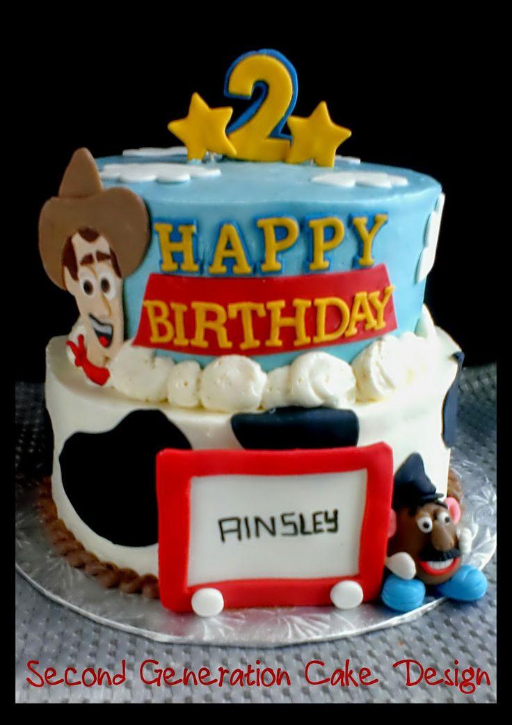 Cake Design Toy Story