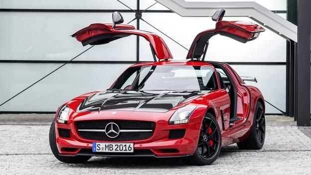 BBC - Autos - The wild one: Top Gear drives SLS AMG GT Final Edition