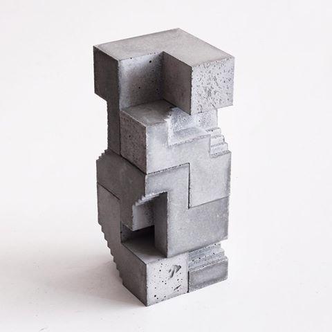 Assembled unmolded pieces #artchitecture #artinstallation #sculpture #concrete #concreteart #concretearchitecture #modular #contemporaryart #modernart #modernarchitecture #utopia #futuristic #brutalism #soho #visualart #escher #artsy #instaart #exhibition #urbanart #streetart #artwork #artshow #minimalist #modernstyle #lecorbusier #temple #cube #brutalist #monument