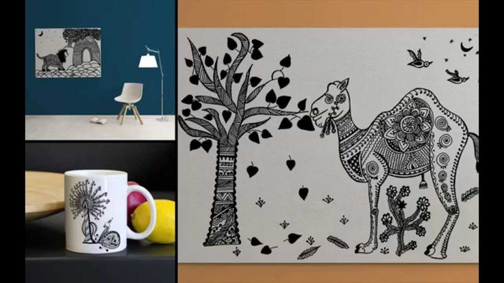 MGGK Art House Showcase!  #canvas #wallart #paintings #handdesigned #coffee #mugs #inkart #indianart #mandanaart #rajasthan #india #indiaart #homedecor #interior
