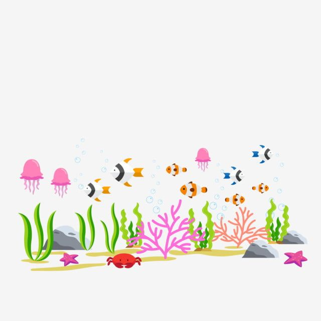 Sea Ocean Day Environmental Protection Protect Environment Under The Sea Clipart Underwater World Sea World Png And Vector With Transparent Background For Fr Sea And Ocean Under The Sea Clipart Ocean