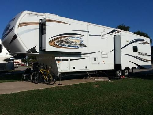 2013 Keystone Montana 3582RL - 39' 5th wheel with 3 slides ...