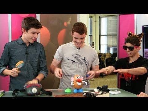 ▶ The Kings of Summer Cast on Mr. Potato Head and Surviving in the Wild | POPSUGAR News - YouTube
