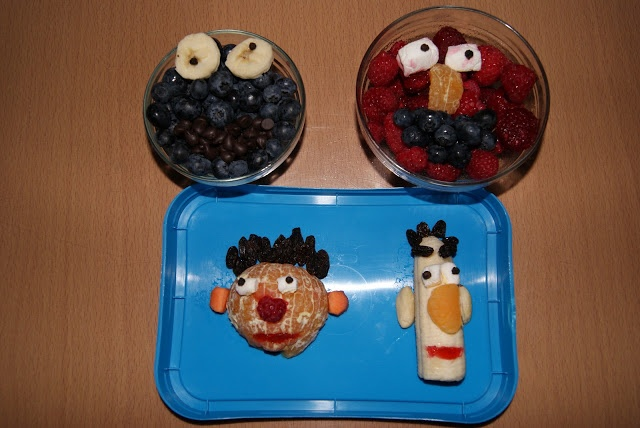 Sesame Street Snacks - so cute, healthy, and delicious!