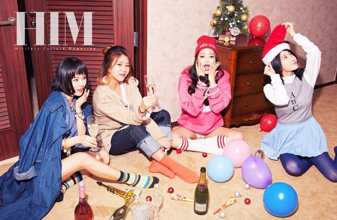 LOVE US - Migyo + Euna + Hayang + Danbi