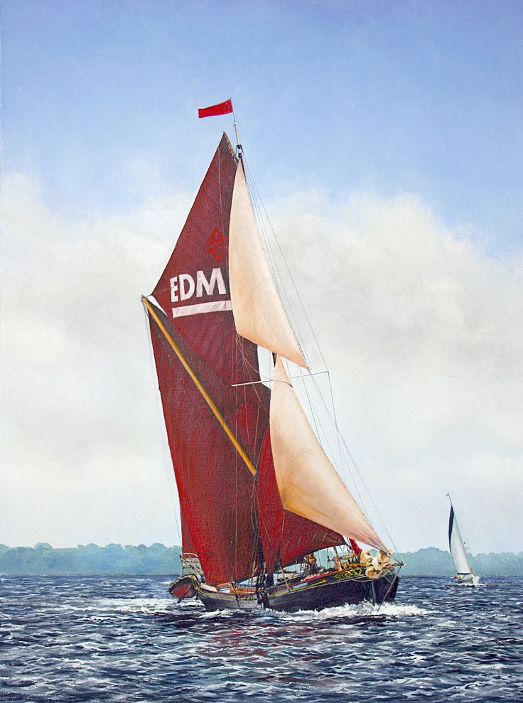 Thames Sailing Barge EDME