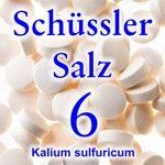 weiter zu - Schüssler Salz 6
