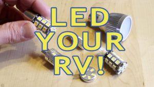 12v Led Light Fixtures For Rv