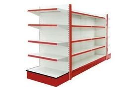 Adjustable Supermarket Gondola Shelving (004) ৳ 14,000.00  Categories: Industrial Furniture, Supermarket Gondola Tags: adjustable gondola, gondola shelving, grocery shelf, shelves for supermarkets, supermarket gondola, supermarket gondola shelving, Supermarket rack, supermarket shelving, supermarket stand shelf, wall shelves Model No: SG004 Paint: Powder coating Color: blue, white, red, yellow (also as your requirements) Layer: 5 Layer (capacity 70kg per layer) Mat