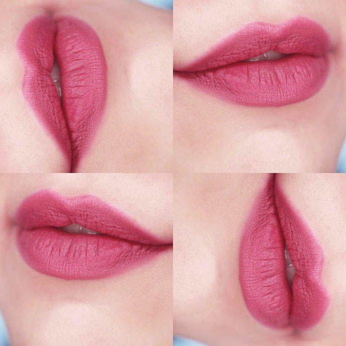 O batom malva da Fernanda Lima em Superstar | Deep Rose, da linha de batons caneta da Sabrina Sato by Yes Cosmetics