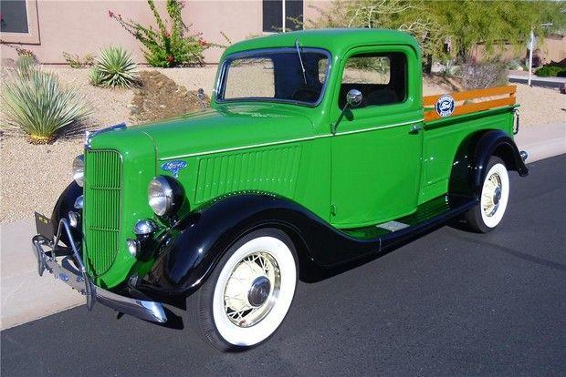 1936 FORD 239 V8 PICKUP TRUCK