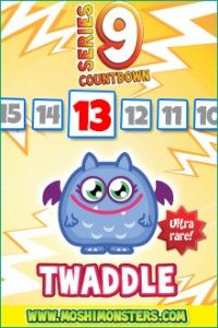 NEW! Twaddle @moshimonsters Series 9