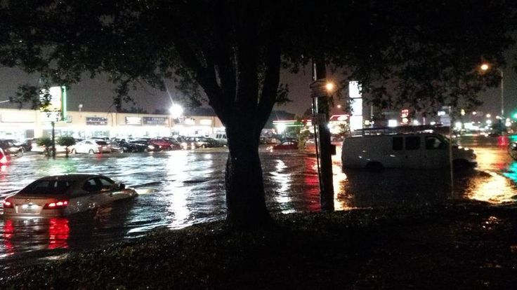 Cars Battle High Waters After Flash Floods in Houston - NBC News