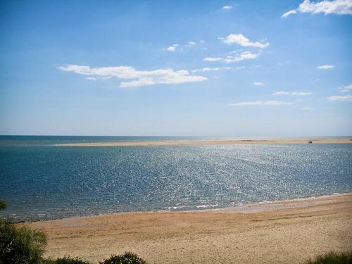 Flecha de El Rompido desde la playa. Nuevo Portil, Huelva. Spain. www.portilplaya.com
