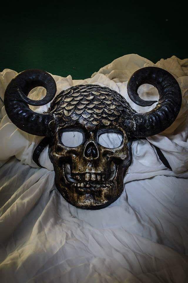 skull mask , skeleton
