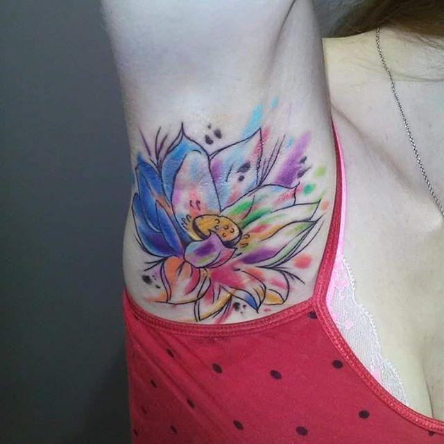 Tattoo Designs Underarm: 52 Best Armpit Tattoos Images On Pinterest