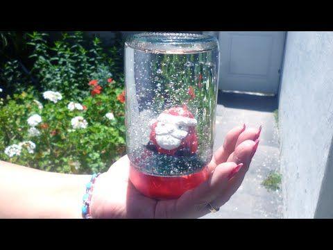 Como Hacer Bolas Cristal de Navidad Caseras - YouTube