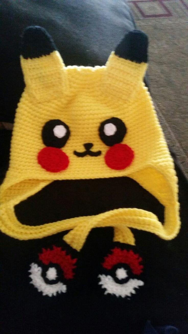 Crochet pokemon beanie