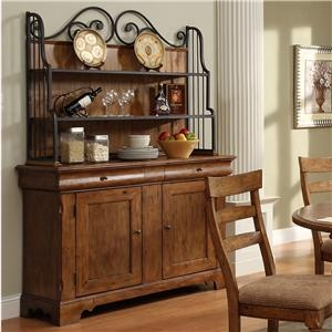 bakers rack for serving area?