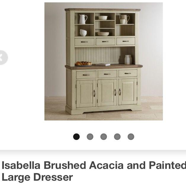 Oak Furnitureland dresser - family area