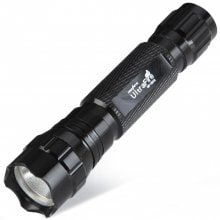 New Arrival Ultrafire 501B Cree Q5 Waterproof IR LED 18650 / 16340 Infrared Radiation Flashlight