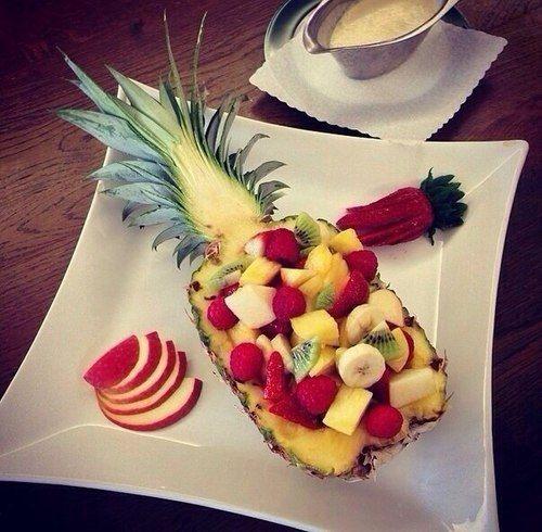 超簡単なのに「なにこれ可愛い♡」って言われるフルーツの飾り切り・盛り付け方の画像