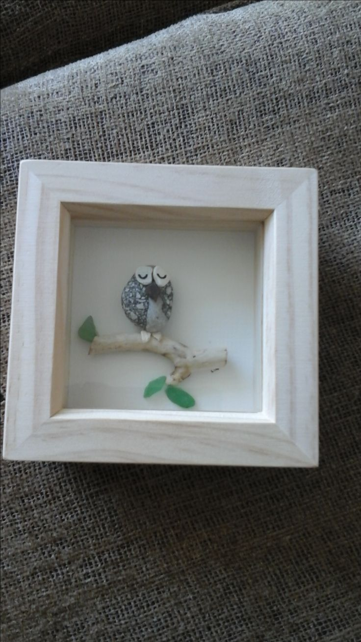 I am always getting asked for different animals and birds to be made from pebbles and sea glass.