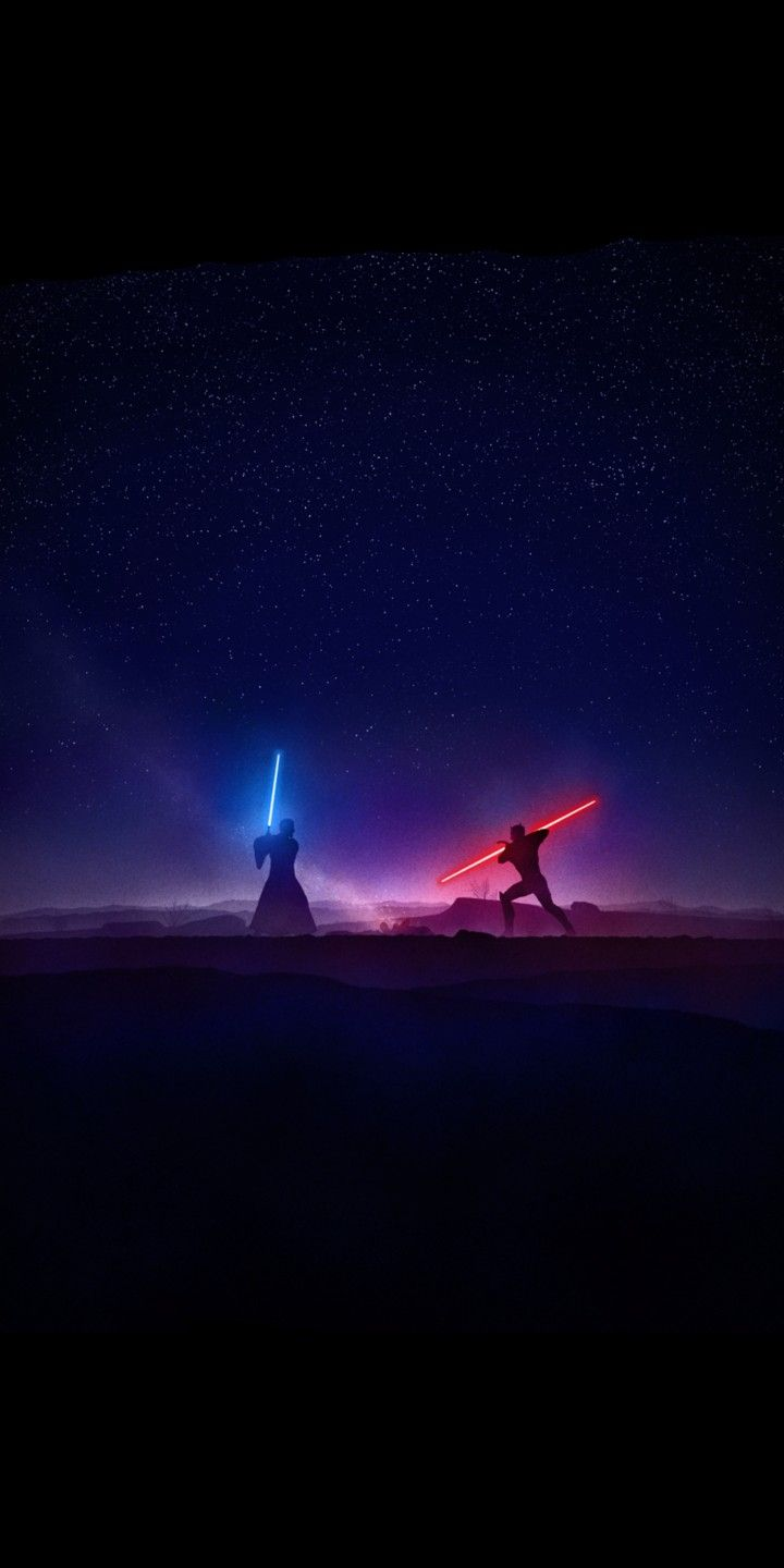 Star Wars Rebels Kenobi Vs Maul Lightsaber Duel By Marco Manev 18 9 Wallpaper Star Wars Background Star Wars Wallpaper Star Wars Pictures