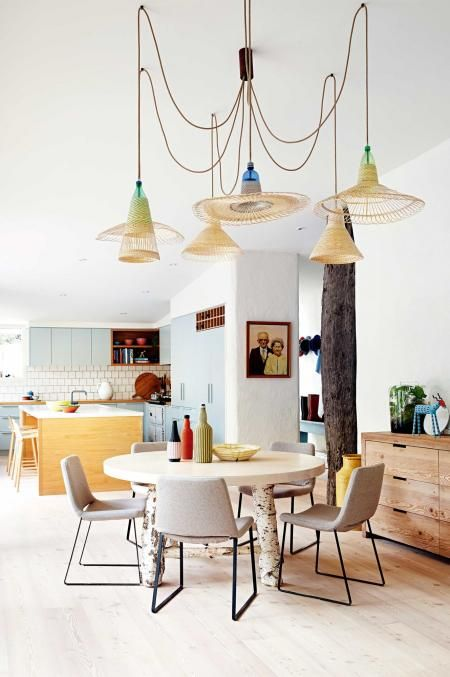 Arabella Ramsay's home in Melbourne as featured in Inside Out feat. mafi Larch Lye Brushed White Oil floorboards