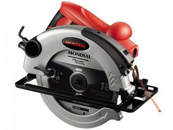 Serra Circular 1200W - Mondial Power Tools FSC-01-de R$ 364,00 por R$ 238,90  em até 7x de R$ 34,13 sem juros no cartão de crédito