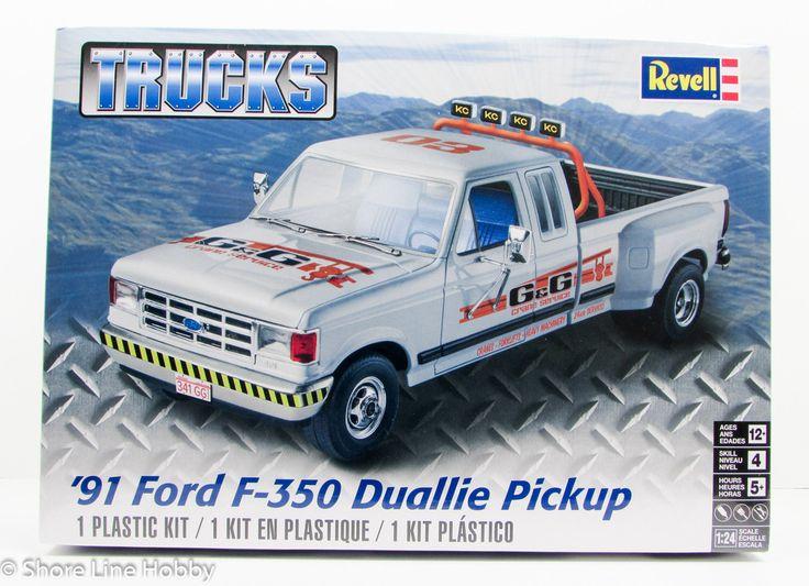 1991 Ford F 350 Duallie Pickup Revell 85 4376 1 24 New Truck