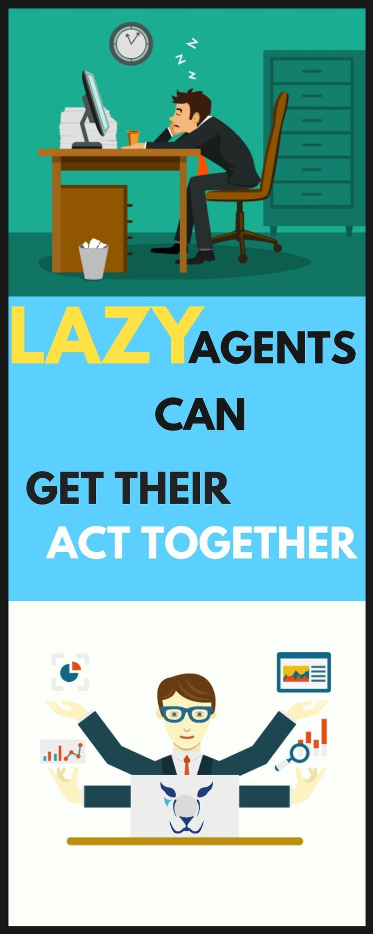 Lazy Agent Can Get Their Act Together Realestateguide Realestate Realestateagent Real Estate Guide Acting Real Estate Agent