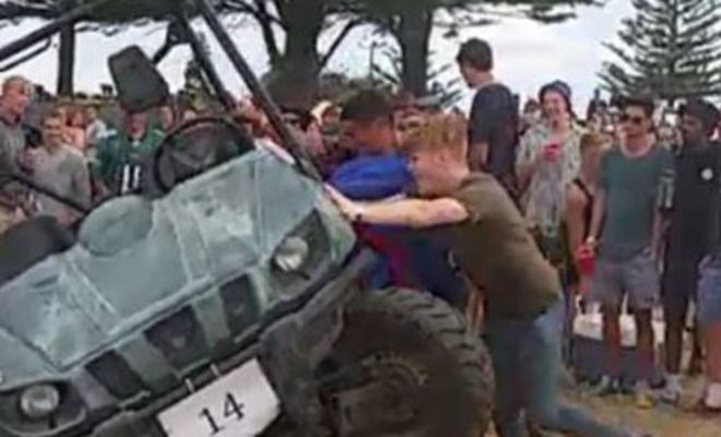 Meanwhile In New Zealand…New Years Celebrations Turn Into Riots At 'BW Summer Festival' In Gisborne!