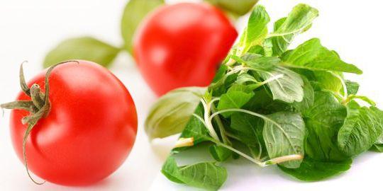 Agar Kulit Sehat Cerah Alami : Tomat