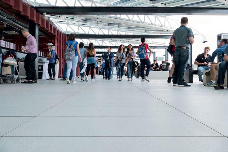 #Marazzi | #Expo2015 | #USApavillion | #SistemA  | #porcelain | #tiles | #floor