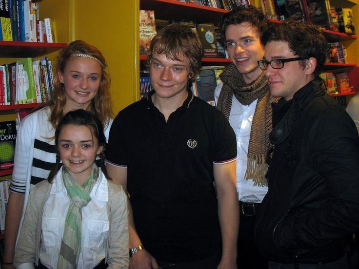 Les acteurs de Game of Thrones en 2009