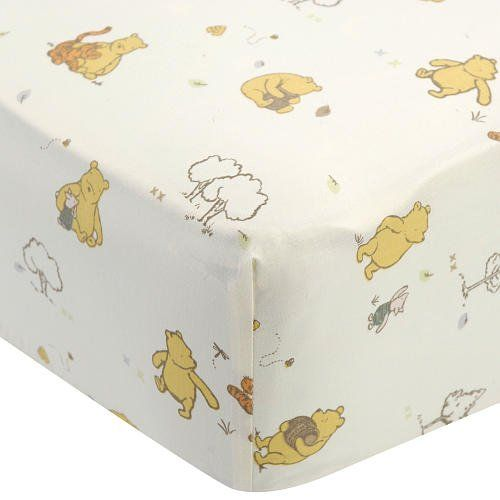 vintage winnie the pooh | Winnie the Pooh (Classic Pooh) Together Time Crib Sheet