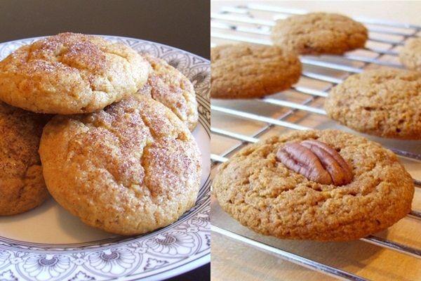 Cinn-ful Sweet Potato Cookies & Pumpkin Spice Cookies