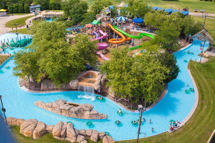 There's no better way to cool off than to sink into the clear waters of an Illinois water park. Hours and hours of fun for water lovers of all ages can be found.  Whether you're looking for action packed, heart pounding, hair raising thrills, rafting rides, relaxation on the lazy river, or a splas