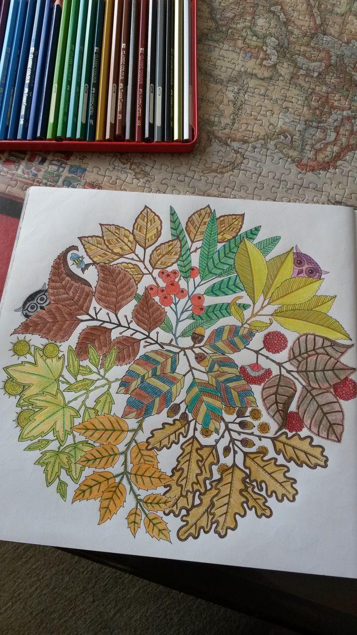 Secret Garden Autumn Leaves