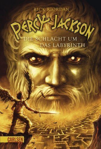 23 best rick riordan book covers images on pinterest book covers german cover of percy jackson and the olympians book the battle of the labyrinth fandeluxe Images