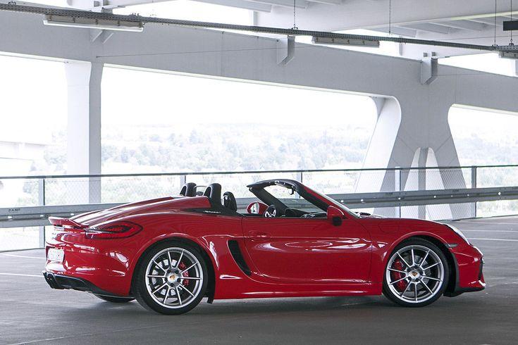 Porsche Boxster Spyder (2015): Fahrbericht - Bilder - autobild.de