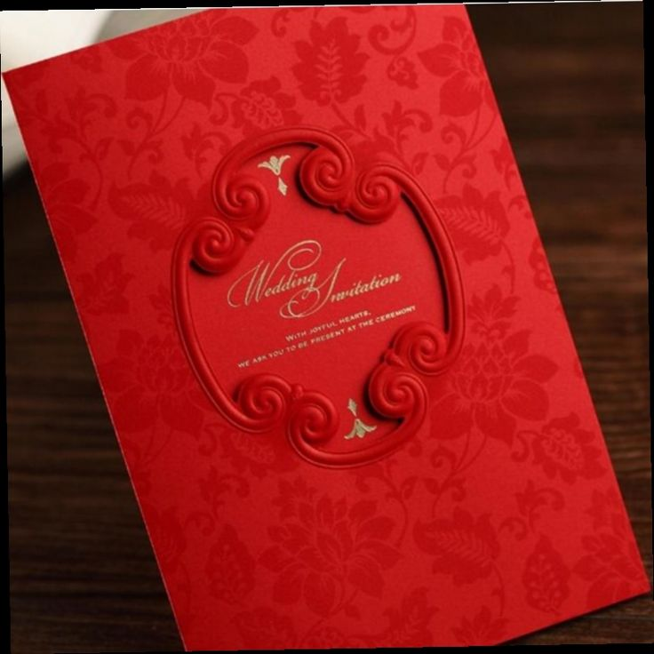 how to write muslim wedding invitation card%0A Cheap shaped cards  Buy Quality card card directly from China card  invitation Suppliers  New Classic Red Hollow Mirror Shape Wedding  Invitation Card With
