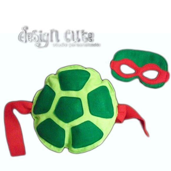 Kit tartarugas ninja