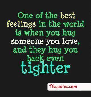 hug back