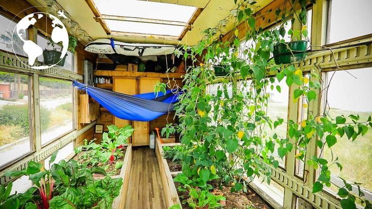 Justin and a friend built a mobile greenhouse. Justin travel's the country and teaches at risk youth about sustainable farming techniques See more at: http:/...