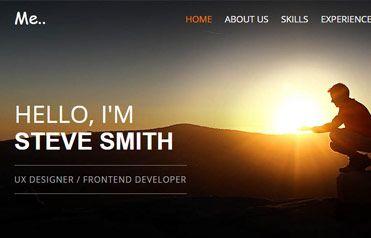 Free Portfolio Responsive Website Template