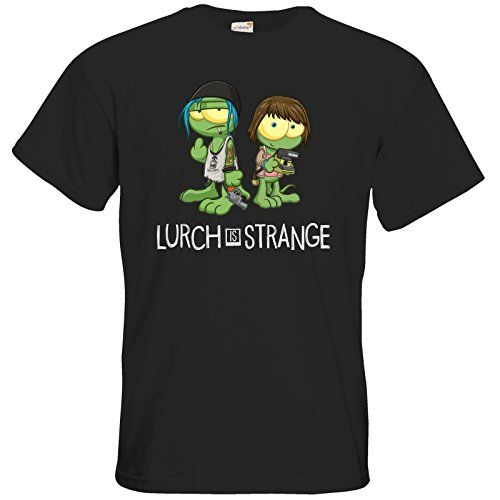 getshirts - Gronkh Official Merchandising - T-Shirt FAIR WEAR - Lurch is Strange Max & Chloe - black S getshirts http://www.amazon.de/dp/B0171IC6BY/ref=cm_sw_r_pi_dp_69jlwb0VD5TV2